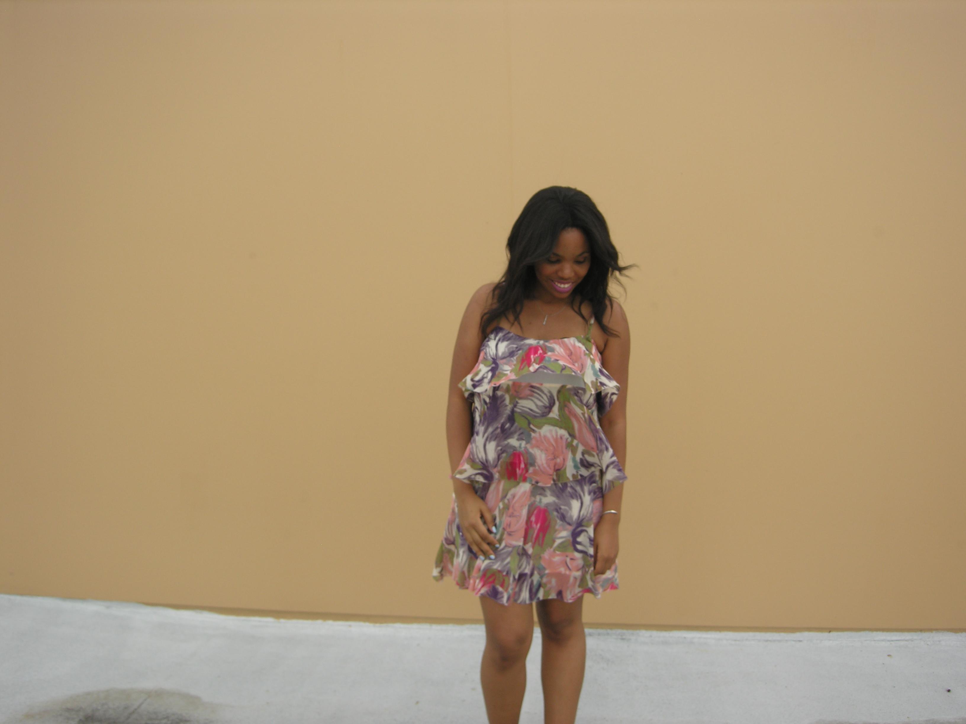 Forever 21 Floral Dress (16)