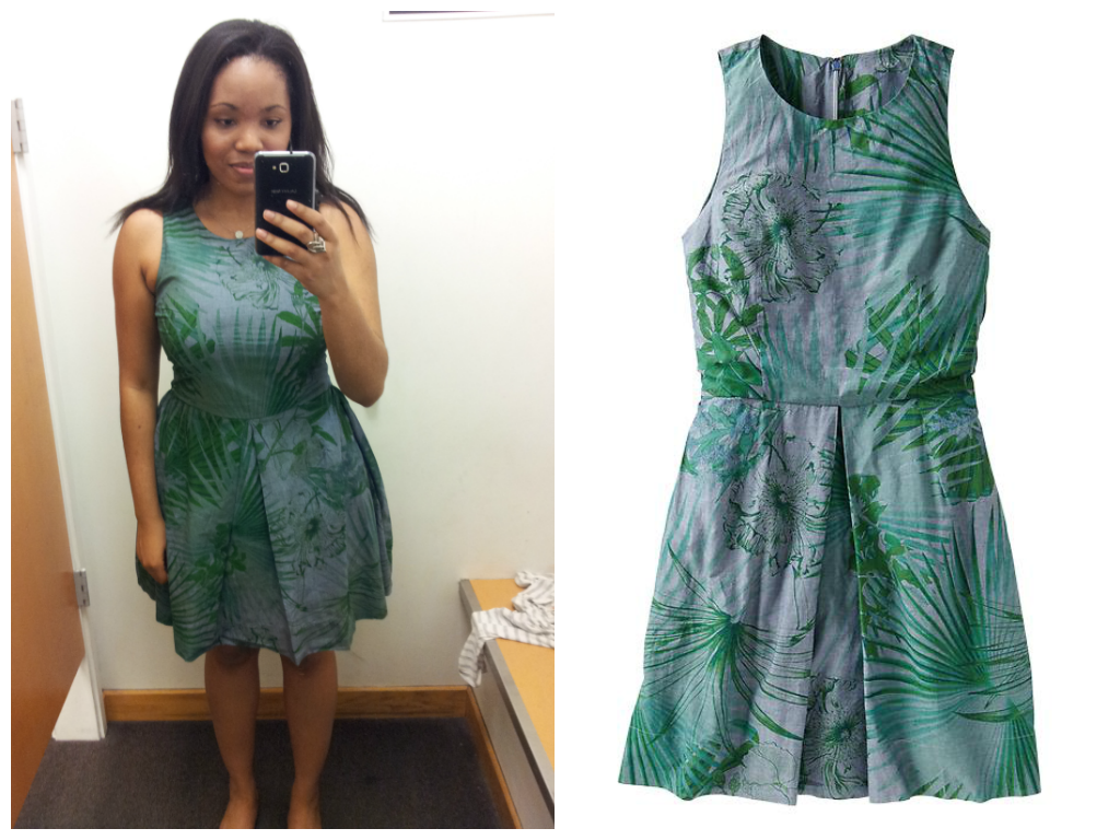 gap tropical denim dress Rayna
